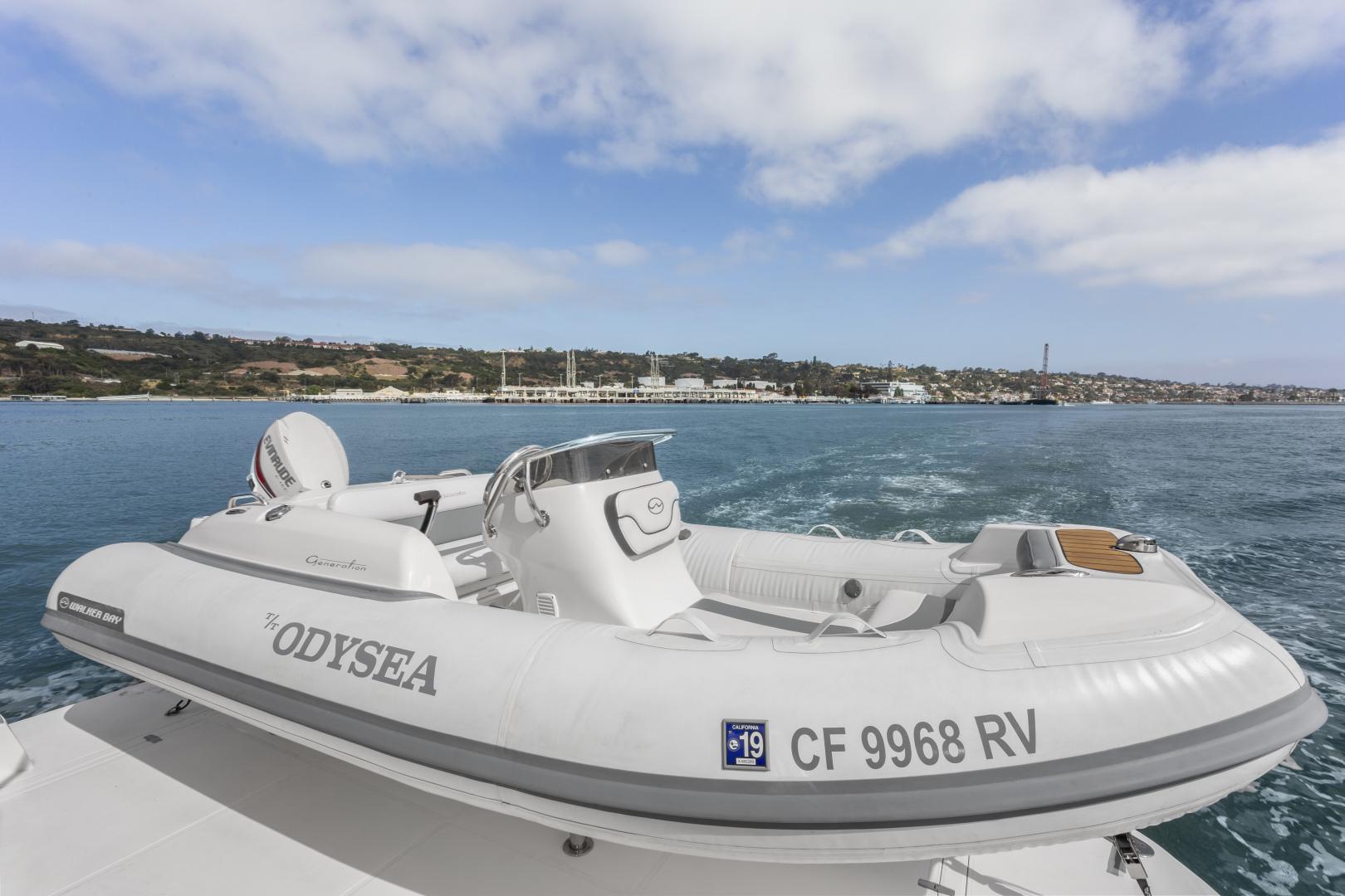 Hampton-76 Skylounge Motoryacht 2014-ODYSEA San Diego-California-United States-TENDER-1165194 | Thumbnail