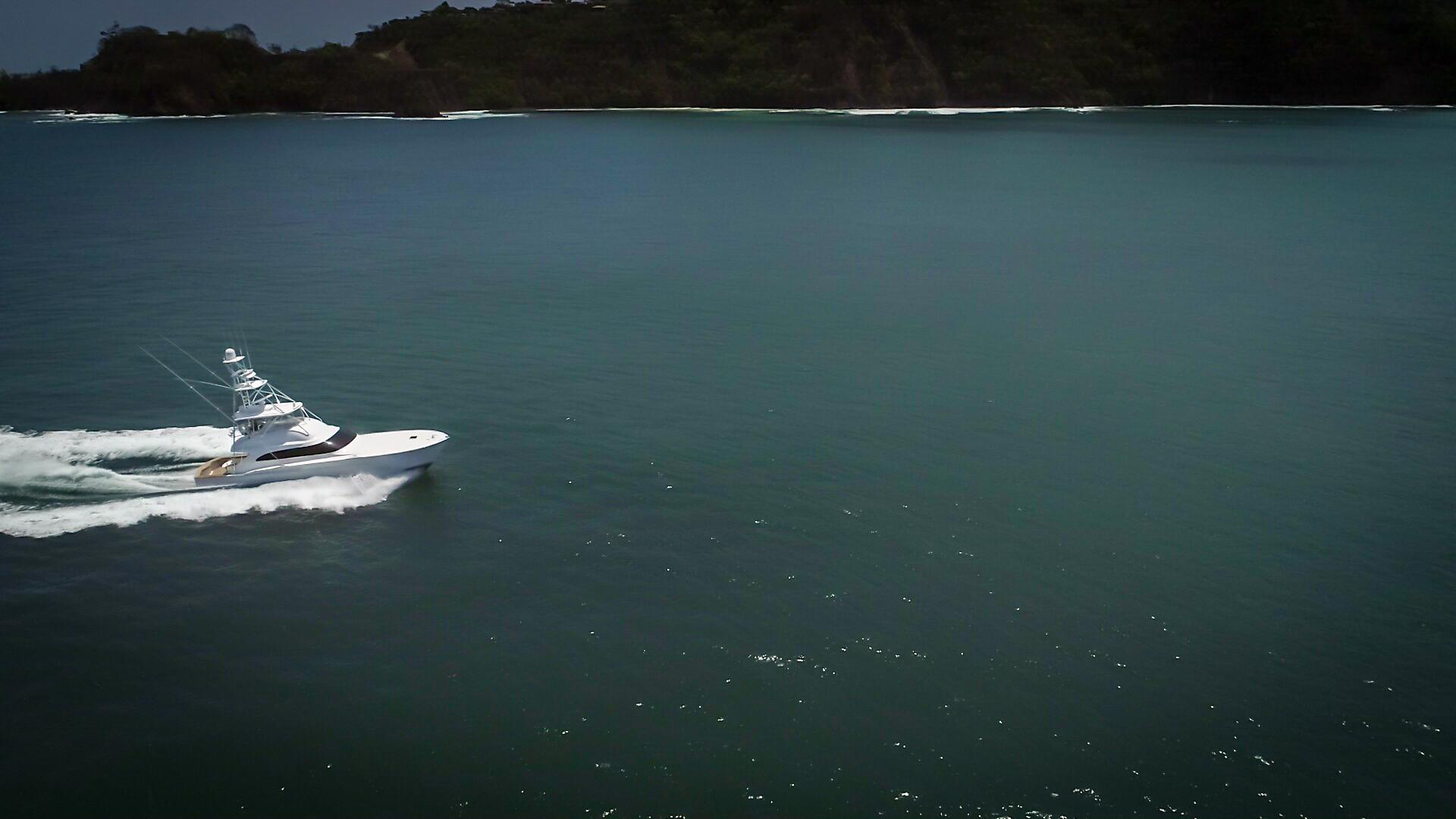 F&S-63 Convertible 2005-Sea Angel Anna Maria-Florida-United States-2005 F&S 63 Convertible  Sea Angel Starboard Forward Running View-1159378   Thumbnail