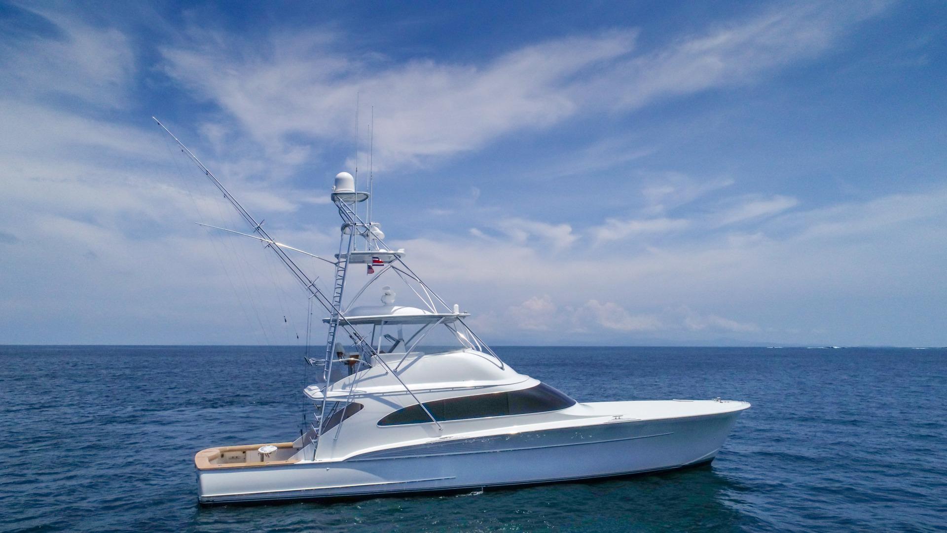 F&S-63 Convertible 2005-Sea Angel Anna Maria-Florida-United States-2005 F&S 63 Convertible  Sea Angel Starboard Profile-1159080   Thumbnail