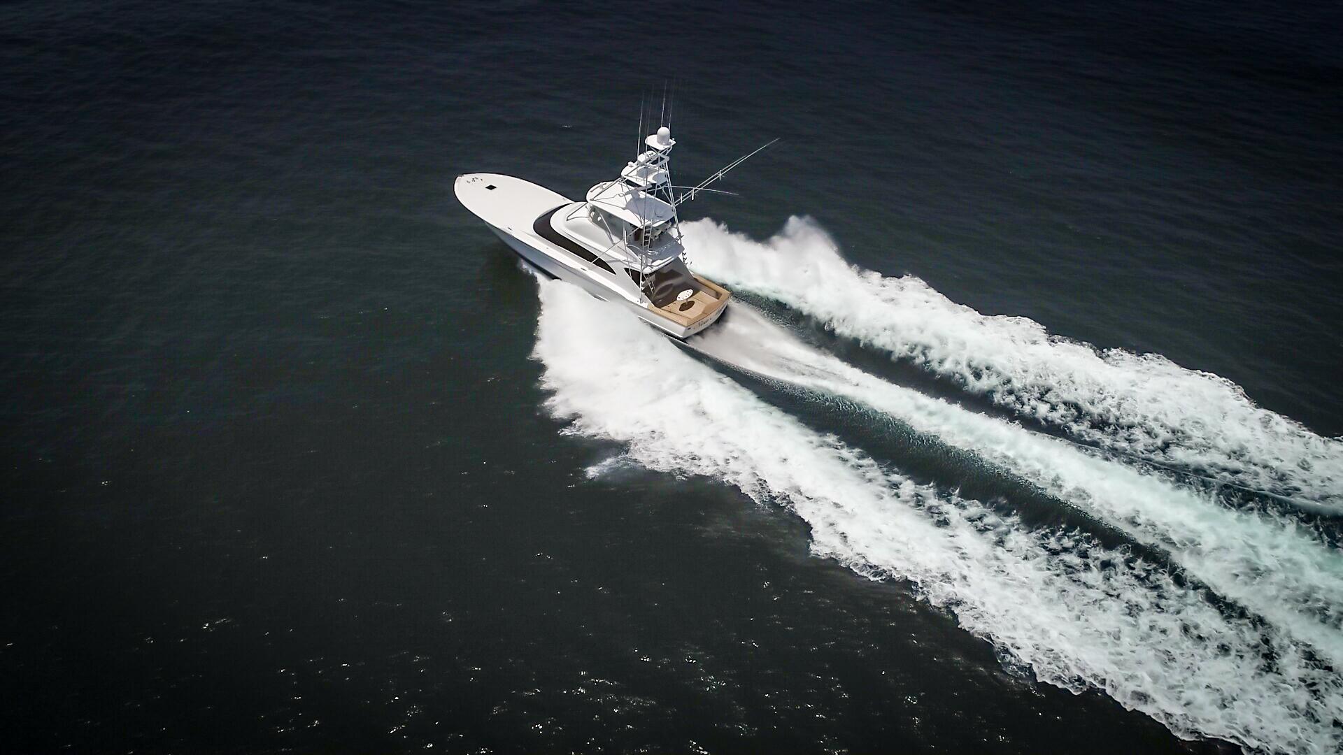 F&S-63 Convertible 2005-Sea Angel Anna Maria-Florida-United States-2005 F&S 63 Convertible  Sea Angel Port Forward Running View-1159376   Thumbnail