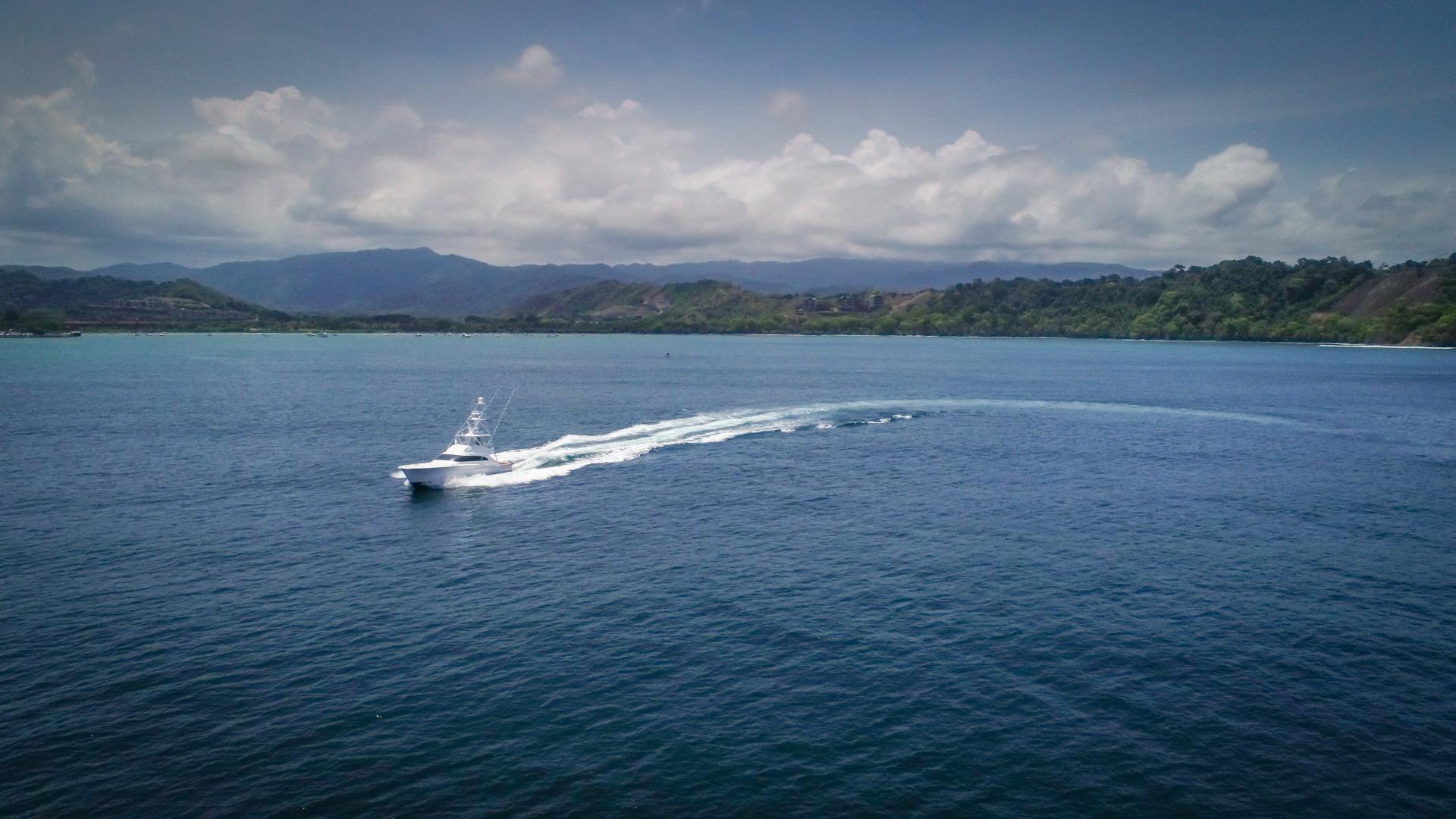 F&S-63 Convertible 2005-Sea Angel Anna Maria-Florida-United States-2005 F&S 63 Convertible  Sea Angel Port Forward Running View-1159335   Thumbnail