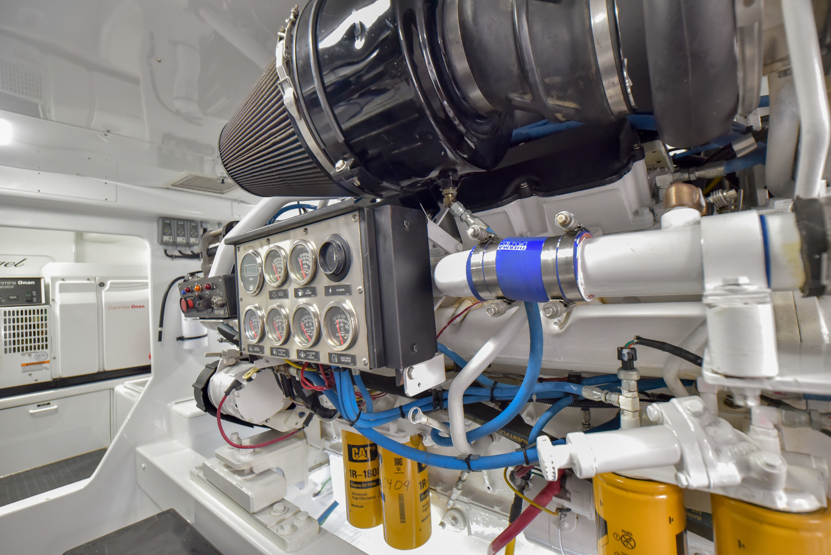 F&S-63 Convertible 2005-Sea Angel Anna Maria-Florida-United States-2005 F&S 63 Convertible  Sea Angel Engine Room-1159299   Thumbnail