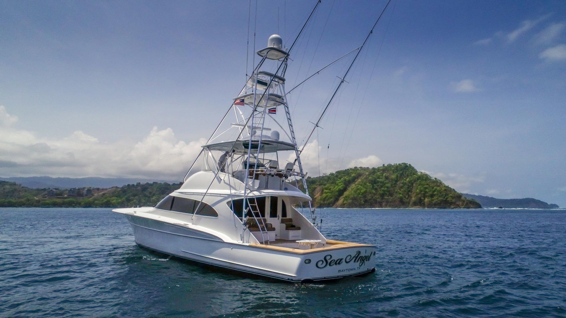 F&S-63 Convertible 2005-Sea Angel Anna Maria-Florida-United States-2005 F&S 63 Convertible  Sea Angel Stern Profile-1159076   Thumbnail