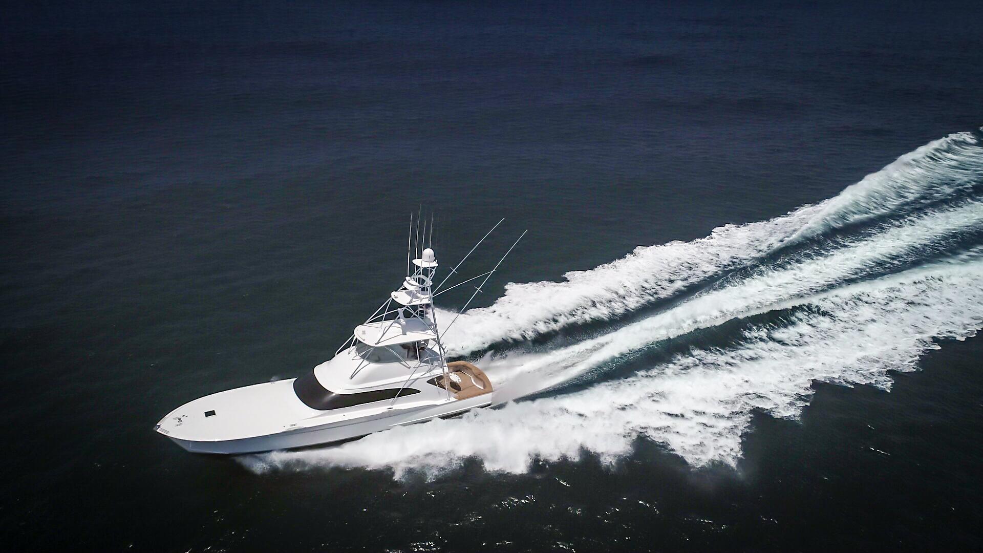 F&S-63 Convertible 2005-Sea Angel Anna Maria-Florida-United States-2005 F&S 63 Convertible  Sea Angel Port Forward Running View-1159382   Thumbnail
