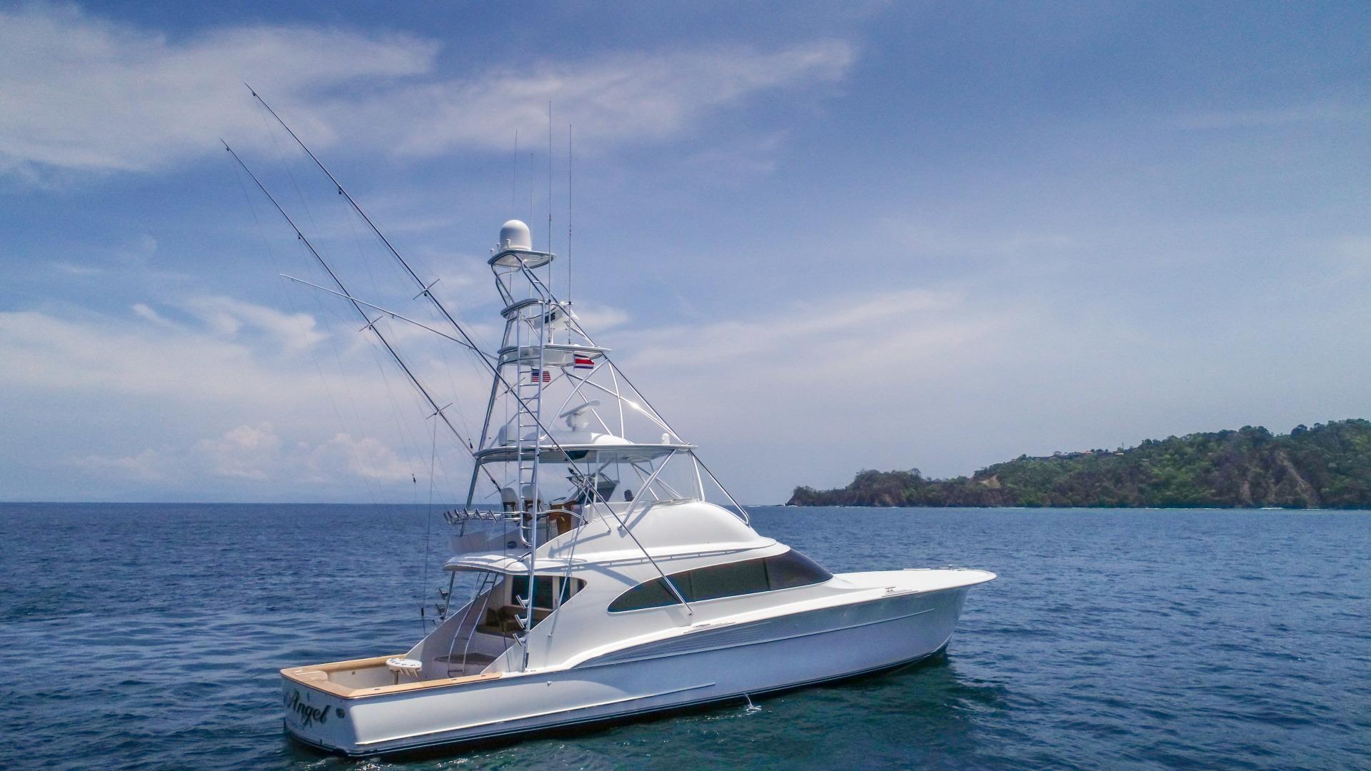 F&S-63 Convertible 2005-Sea Angel Anna Maria-Florida-United States-2005 F&S 63 Convertible  Sea Angel Starboard Profile-1159078   Thumbnail