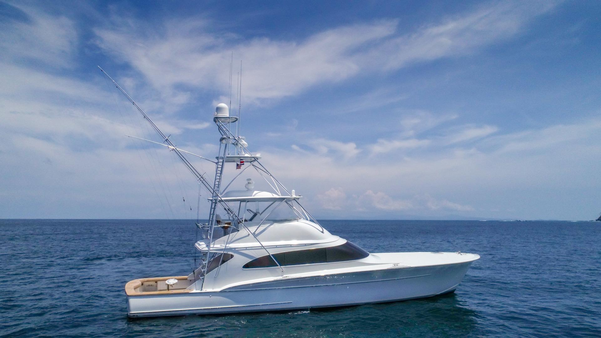 F&S-63 Convertible 2005-Sea Angel Anna Maria-Florida-United States-2005 F&S 63 Convertible  Sea Angel Starboard Profile-1159074   Thumbnail