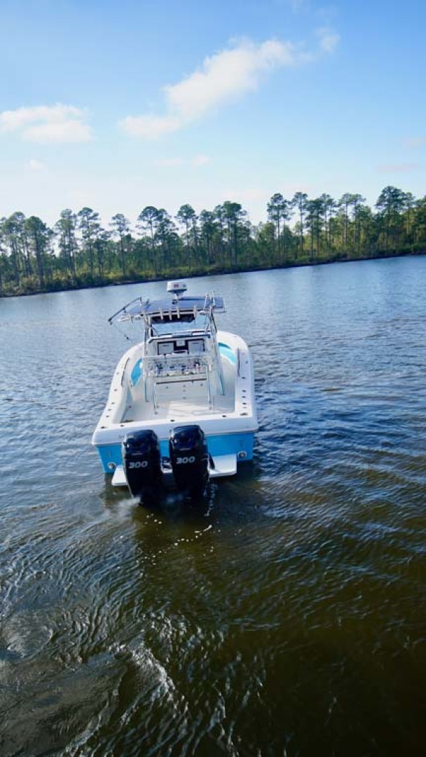 Typhoon-33 Canyon Runner Rybo Runner 2007-Release The Kraken Orange Beach-Alabama-United States-Transom-1158802 | Thumbnail