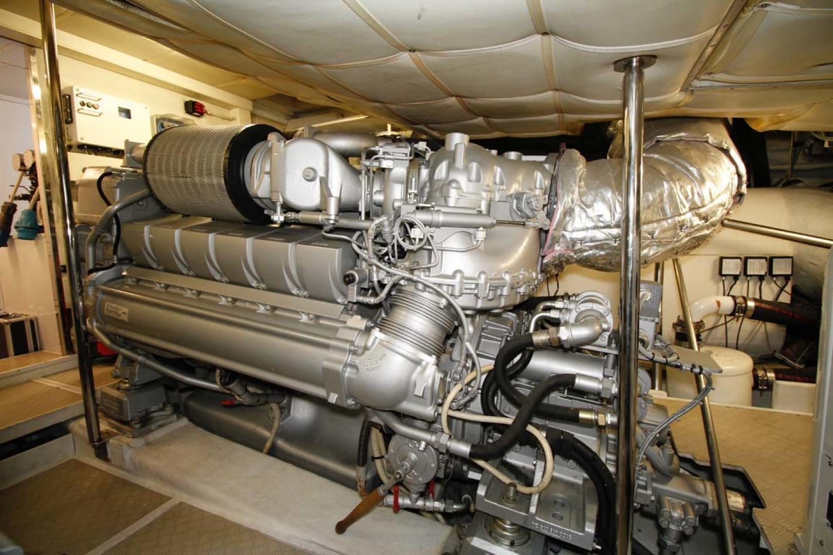 Pershing-P-72 2008-Intrepido Aventura-Florida-United States-Engine Room-1163075 | Thumbnail