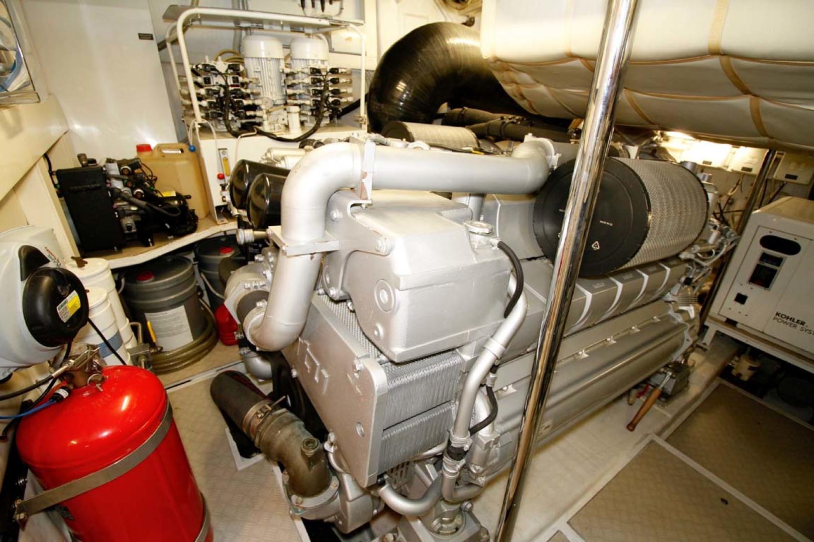 Pershing-P-72 2008-Intrepido Aventura-Florida-United States-Engine Room-1163074 | Thumbnail