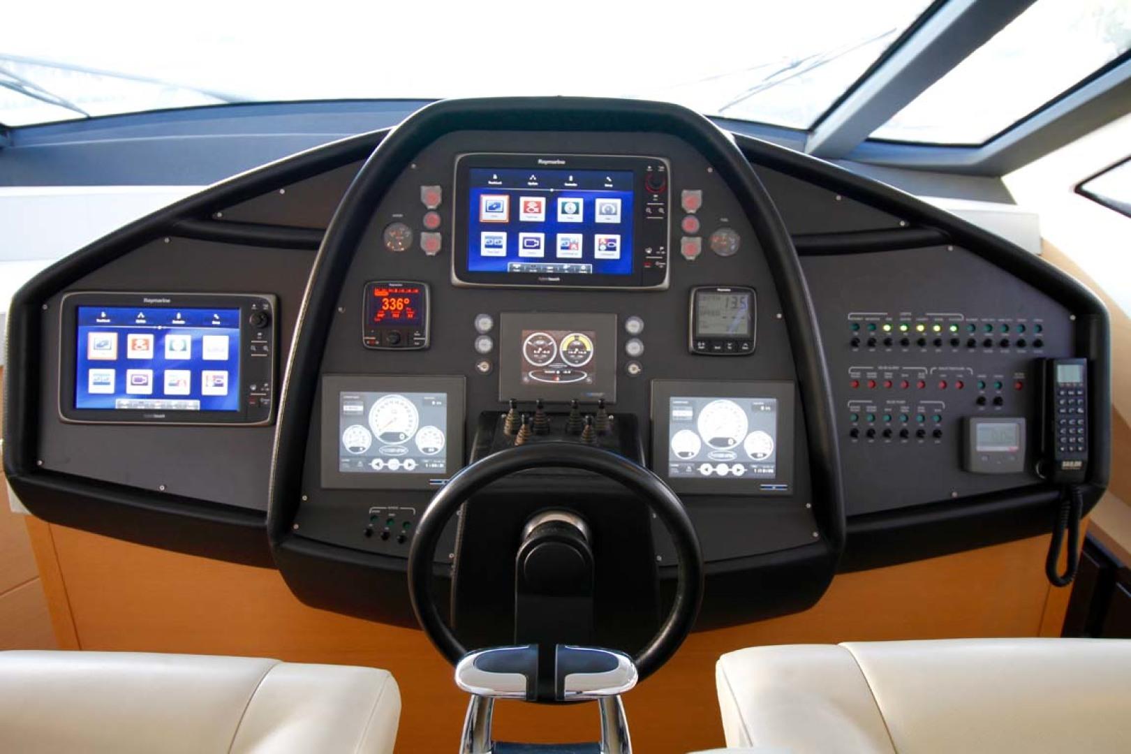 Pershing-P-72 2008-Intrepido Aventura-Florida-United States-Helm Electronics-1163038 | Thumbnail