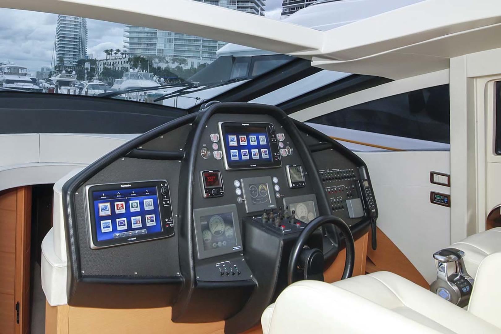 Pershing-P-72 2008-Intrepido Aventura-Florida-United States-Helm Electronincs-1163039 | Thumbnail