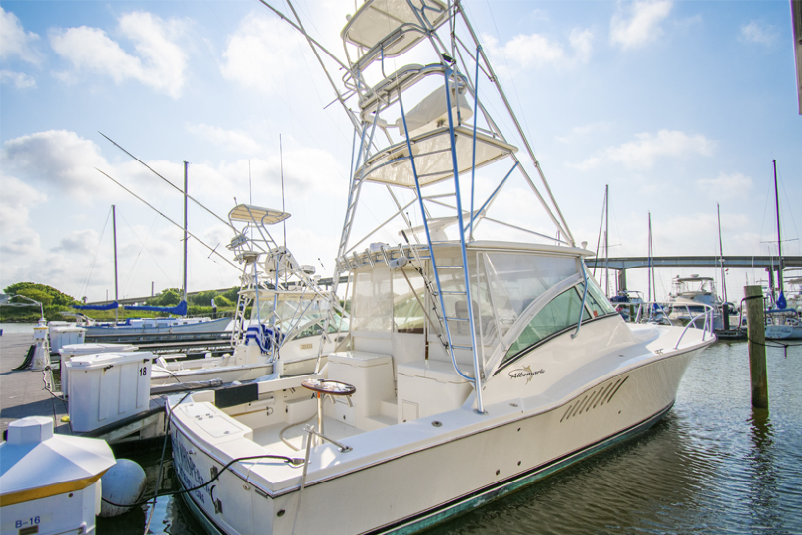 Fish Whisperer is a Albemarle 41 Express Yacht For Sale in Freeport-Fish Whisperer Albemarle 2007 41 Express-0