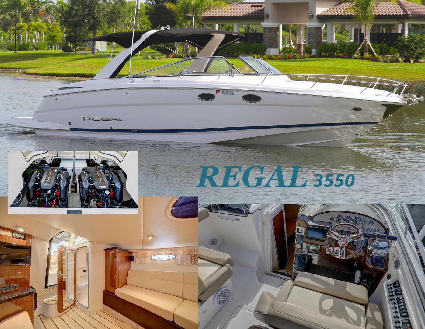 34' 2014 Regal 3550 | Tampa Yacht Sales