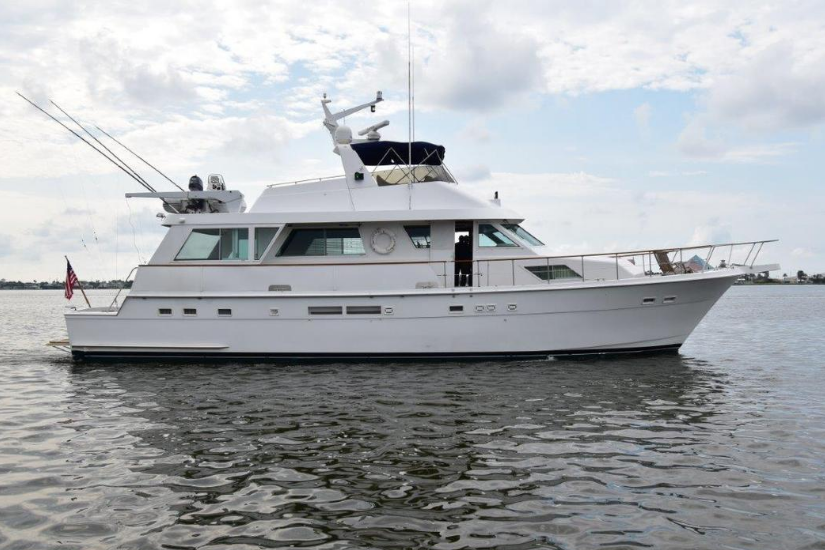 Picture Of: 67' Hatteras 67  Cockpit Motor Yacht 1988 Yacht For Sale | 1 of 78