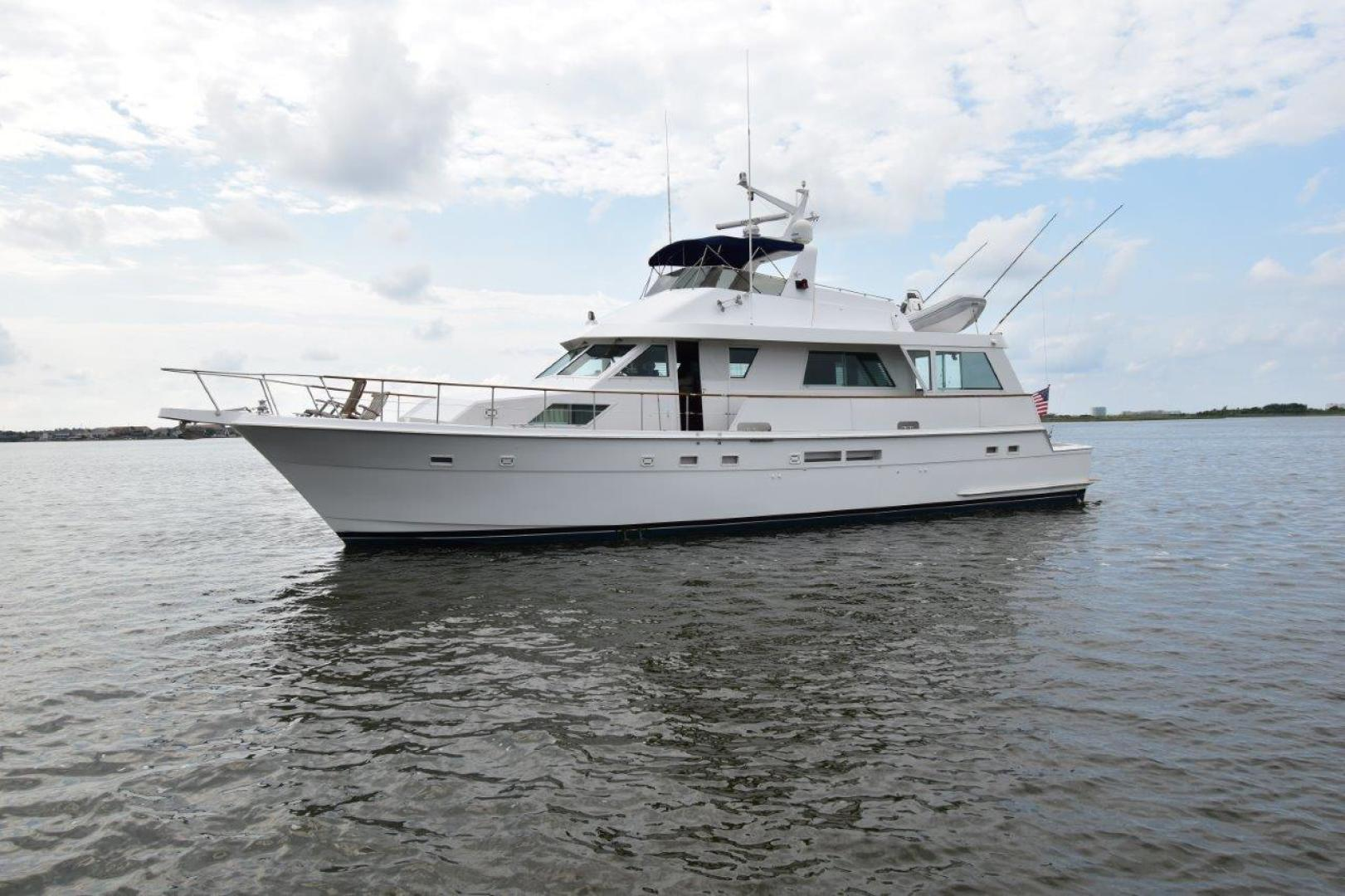 Hatteras-67  Cockpit Motor Yacht 1988-Lady Paragon Galveston-Texas-United States-1457817 | Thumbnail