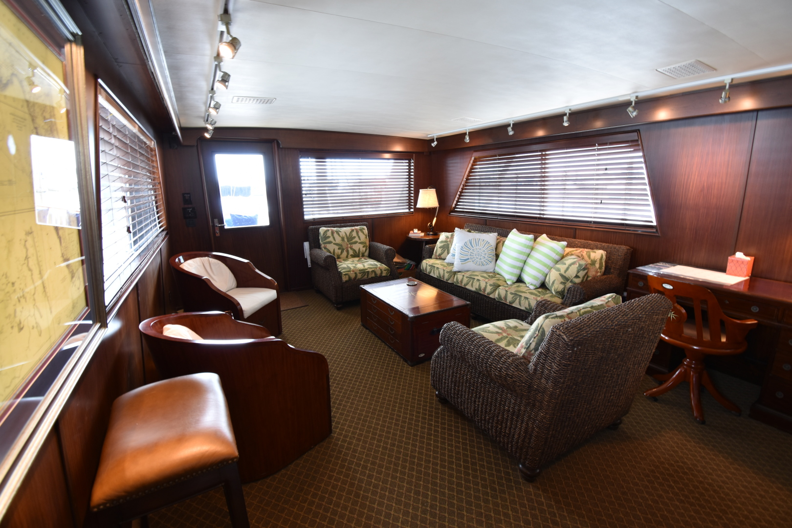 Picture Of: 67' Hatteras 67  Cockpit Motor Yacht 1988 Yacht For Sale   2 of 78