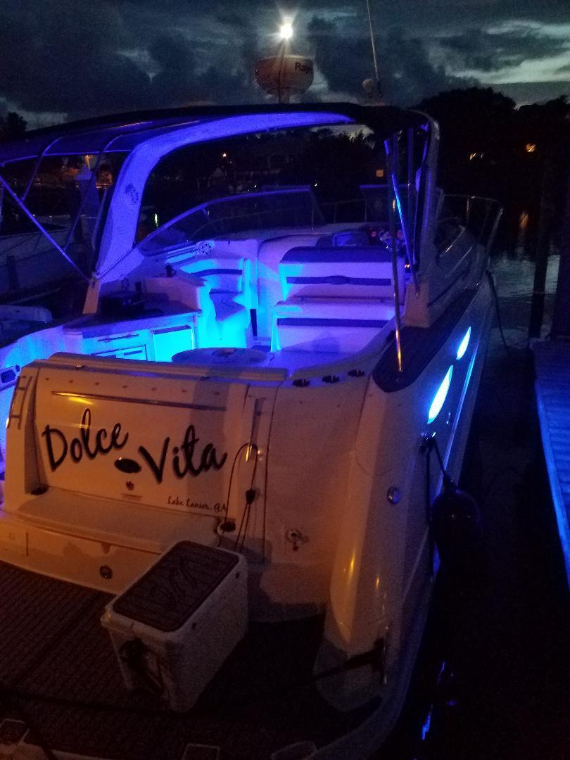 Rinker-350 Express Cruiser 2008-Dolce Vita Clearwater-Florida-United States-2008 Rinker 350 Express Cruiser  Dolce Vita   Blue LED Lights-1172164   Thumbnail