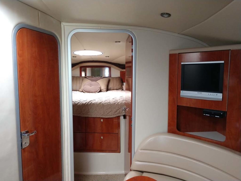 Larson-Cabrio 370 2007-My Tye XII Wiscasset-Maine-United States-To Master Stateroom-1174486 | Thumbnail