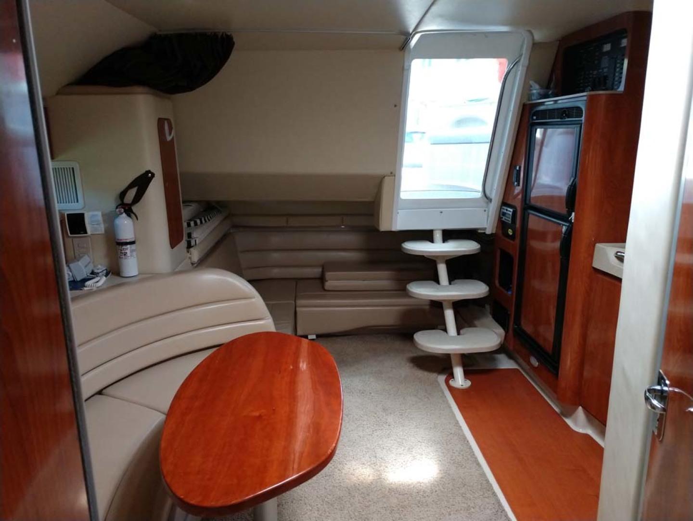 Larson-Cabrio 370 2007-My Tye XII Wiscasset-Maine-United States-Salon Looking Aft-1174493 | Thumbnail