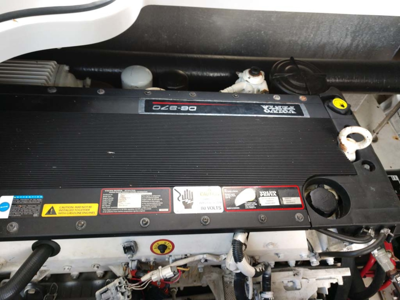 Larson-Cabrio 370 2007-My Tye XII Wiscasset-Maine-United States-Starboard Engine-1177105 | Thumbnail