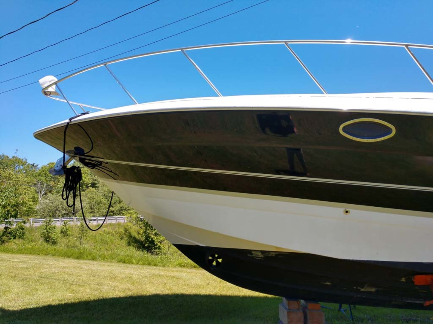 Larson-Cabrio 370 2007-My Tye XII Wiscasset-Maine-United States-Bow To Port-1174446 | Thumbnail