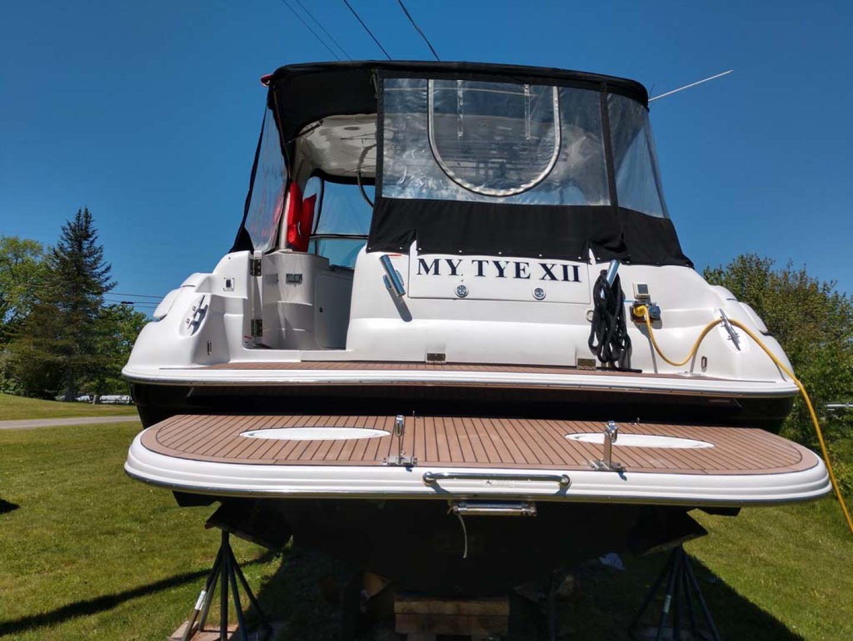 Larson-Cabrio 370 2007-My Tye XII Wiscasset-Maine-United States-Stern View-1174460 | Thumbnail