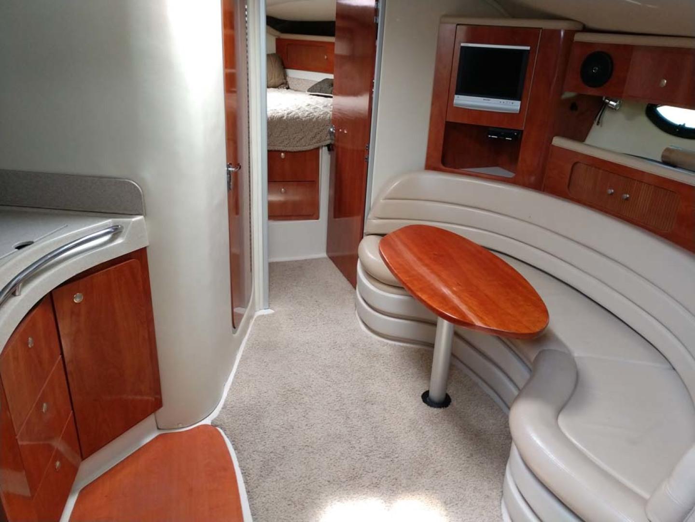 Larson-Cabrio 370 2007-My Tye XII Wiscasset-Maine-United States-Salon Looking Forward-1174485 | Thumbnail