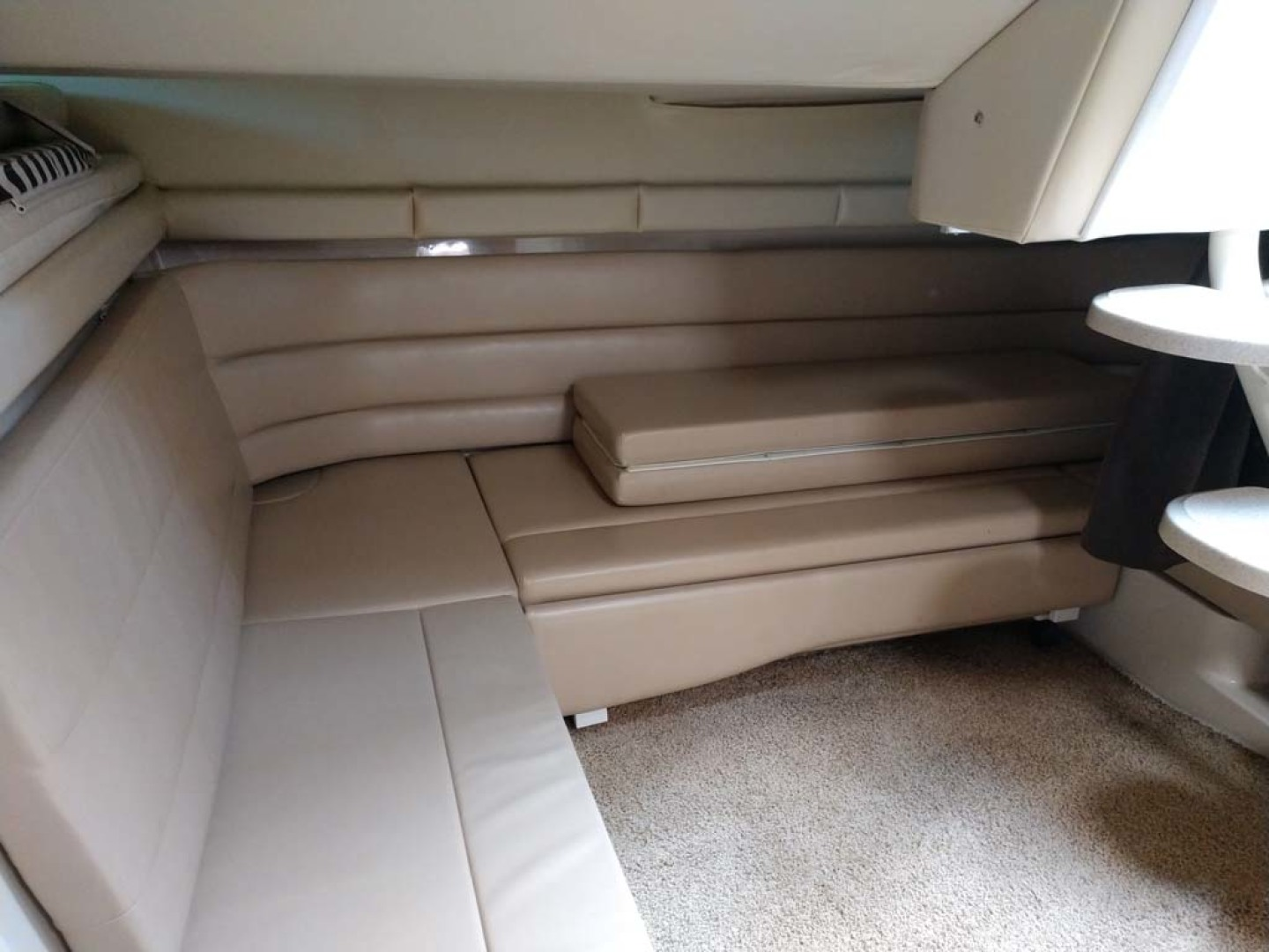 Larson-Cabrio 370 2007-My Tye XII Wiscasset-Maine-United States-Double Berth Seating-1174482 | Thumbnail