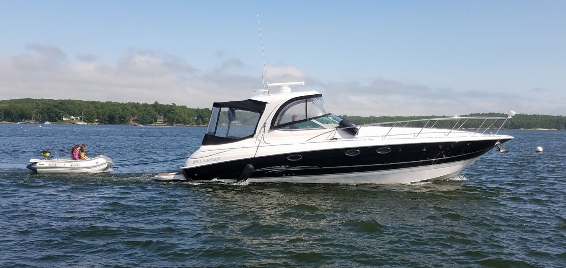 Larson-Cabrio 370 2007-My Tye XII Wiscasset-Maine-United States-Larson Cabrio 370 And Dinghy-1183511 | Thumbnail