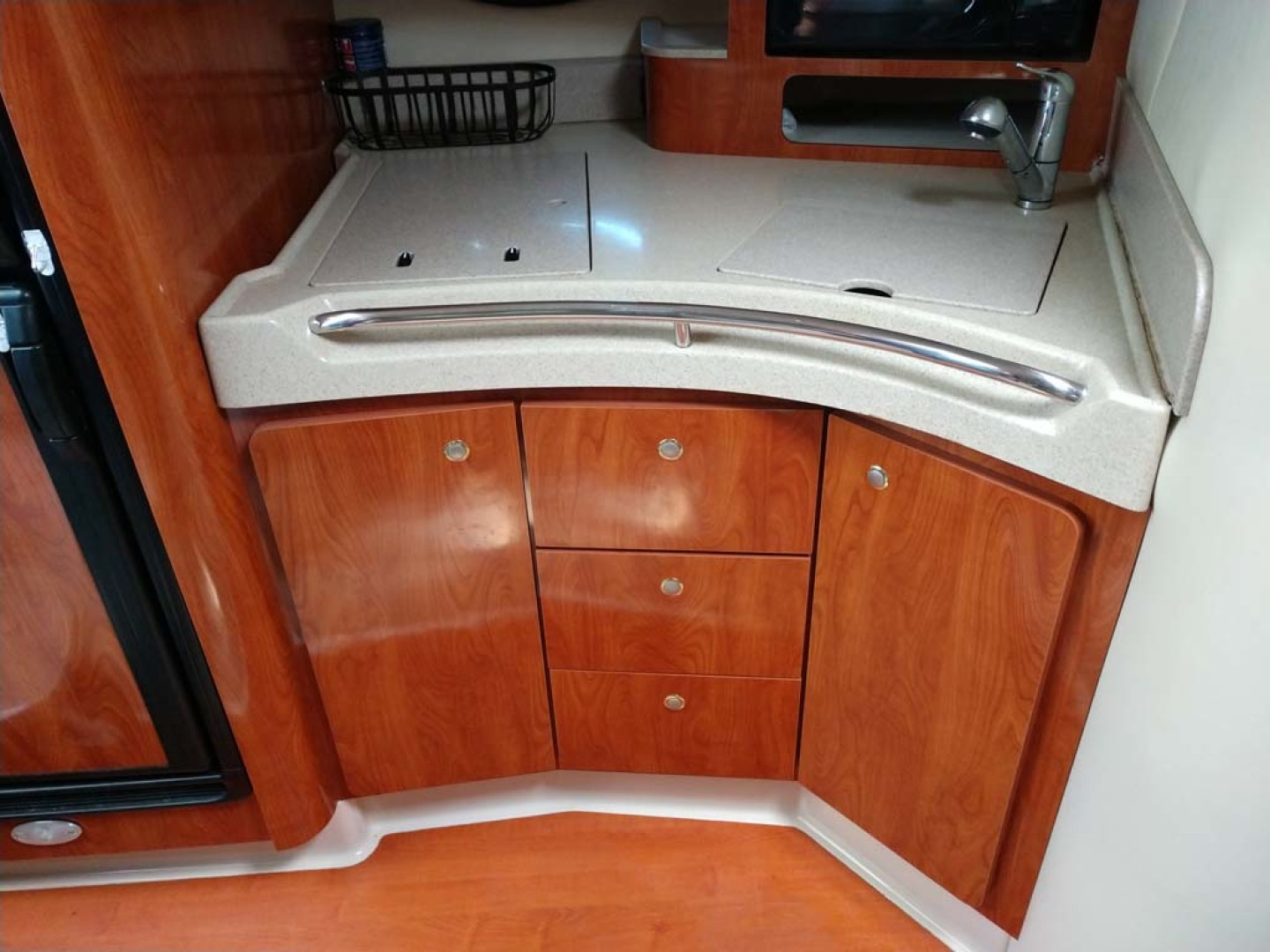 Larson-Cabrio 370 2007-My Tye XII Wiscasset-Maine-United States-Galley Cabinetry-1174504 | Thumbnail