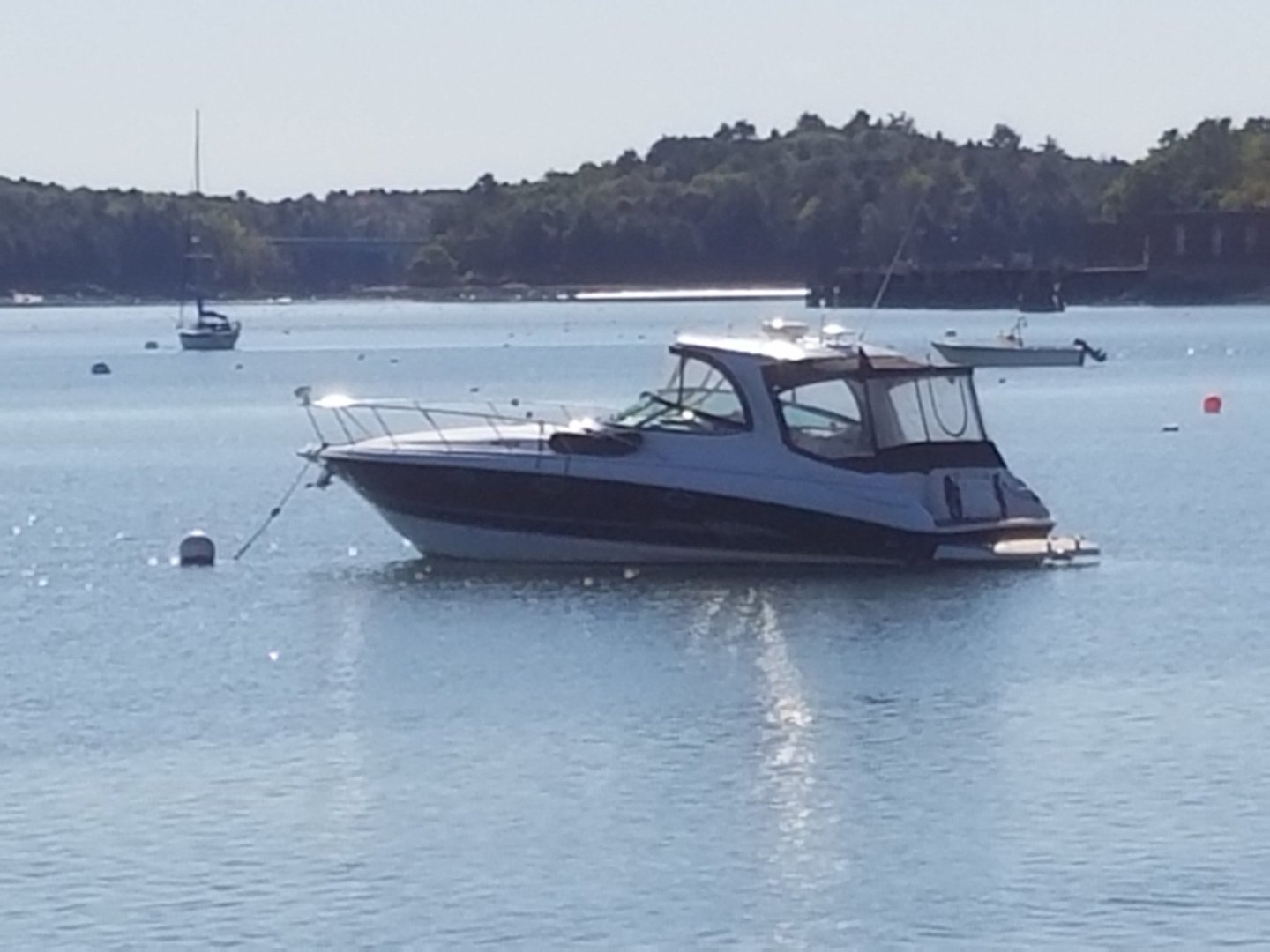 Larson-Cabrio 370 2007-My Tye XII Wiscasset-Maine-United States-At Anchor-1184495 | Thumbnail