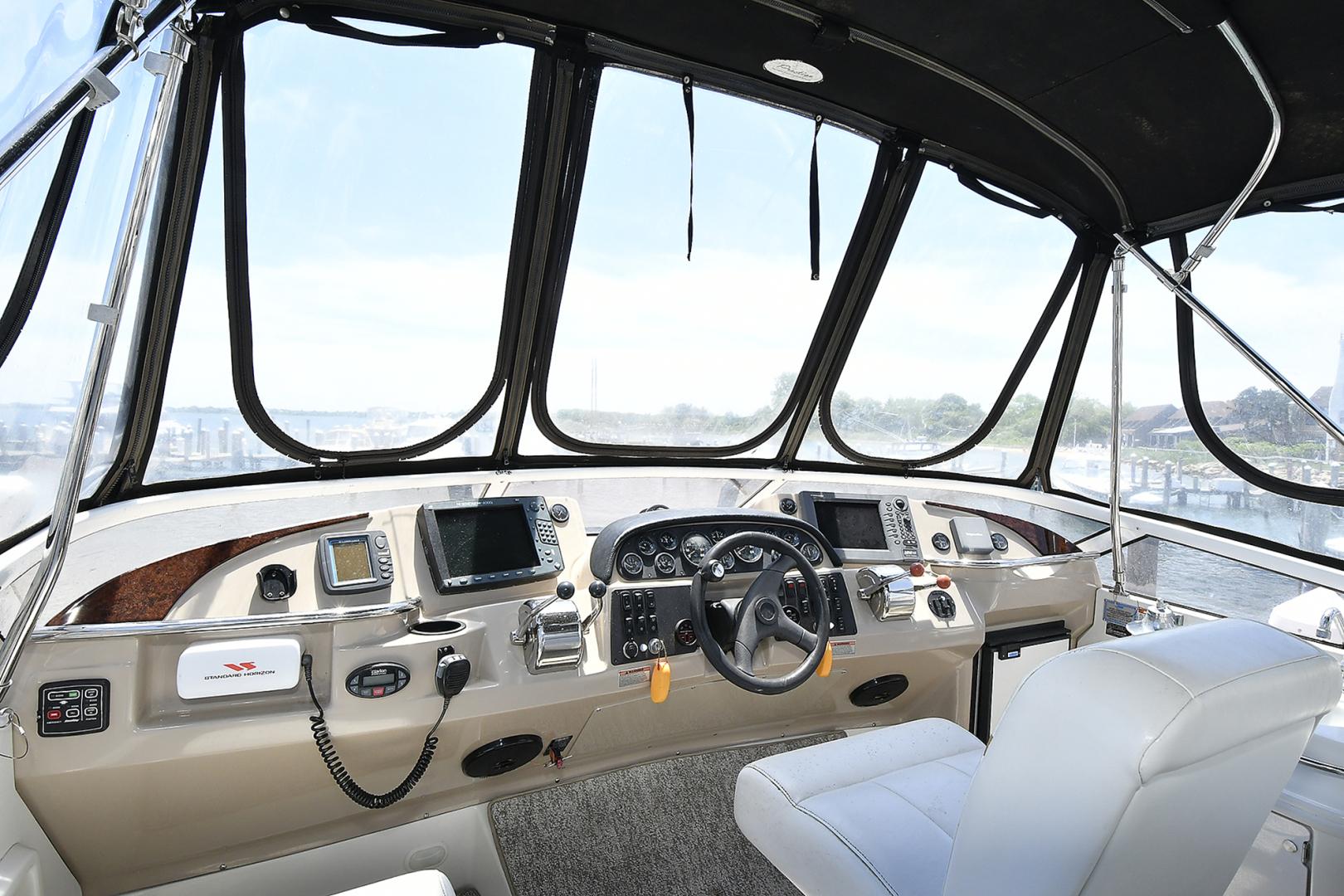 Carver-41 Cockpit Motor Yacht 2006-Uncle Joe Montauk-New York-United States-Helm Station-1175336   Thumbnail