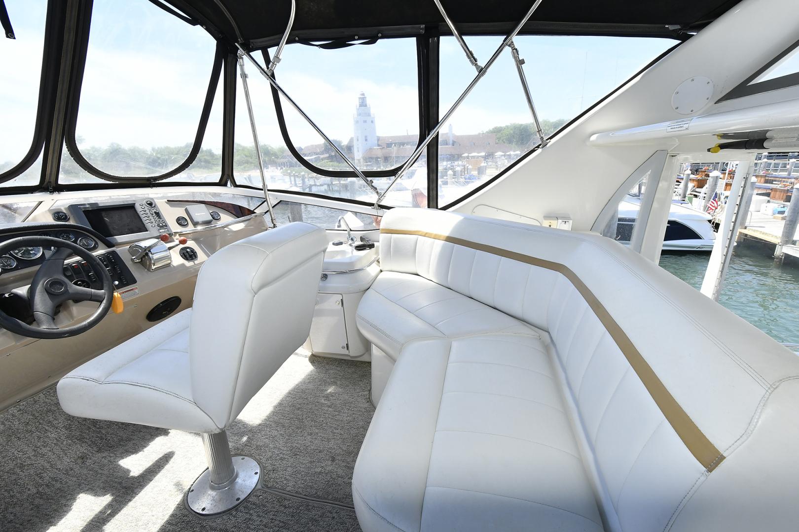 Carver-41 Cockpit Motor Yacht 2006-Uncle Joe Montauk-New York-United States-Flybridge With Helm Seating-1175334   Thumbnail