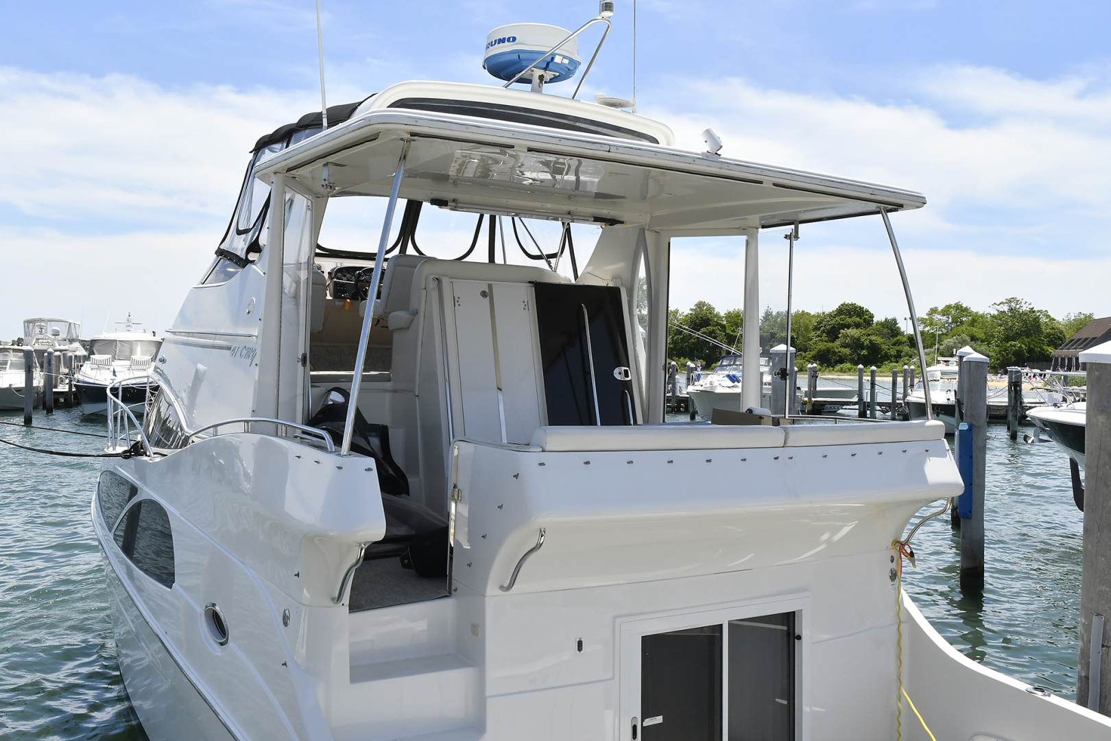Carver-41 Cockpit Motor Yacht 2006-Uncle Joe Montauk-New York-United States-Aft Deck-1175333   Thumbnail