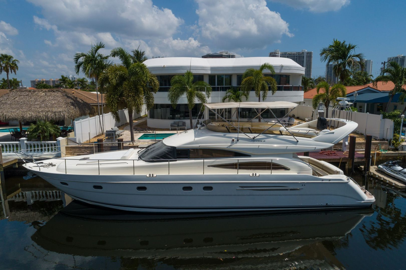 Picture Of: 61' Princess 61 Fly 2002 Yacht For Sale | 1 of 31