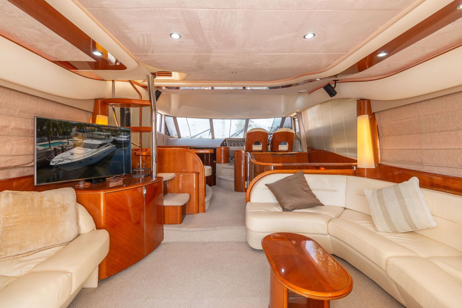 Picture Of: 61' Princess 61 Fly 2002 Yacht For Sale | 2 of 31