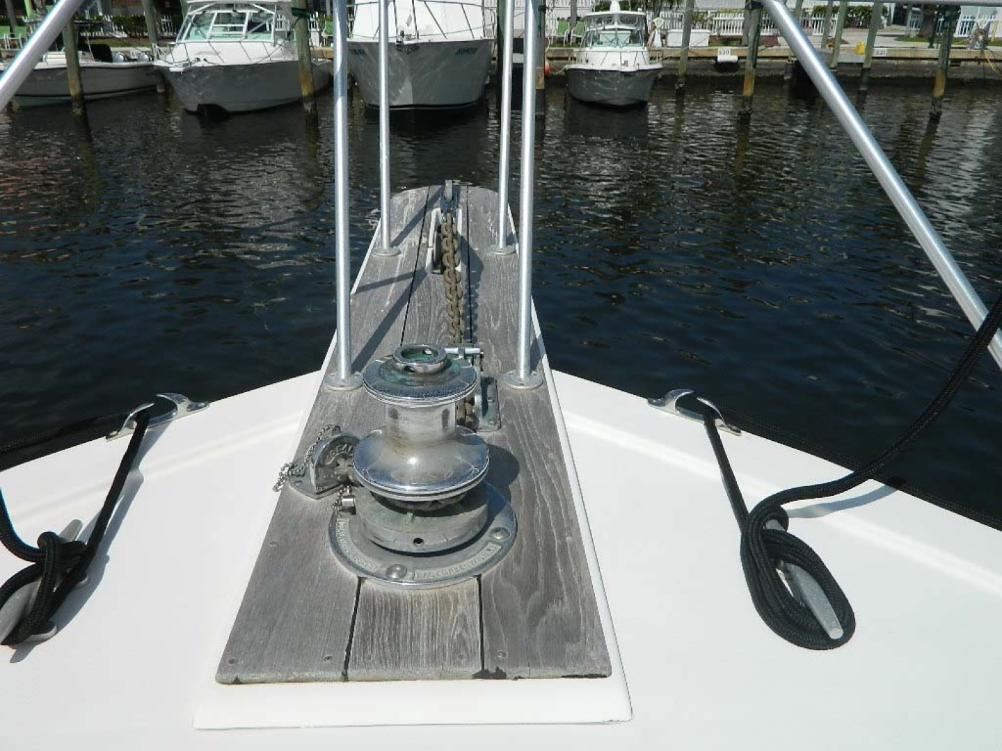 Post-Sport Fisherman 1994-Ingred Stuart-Florida-United States-Windlass And Pulpit-1176197 | Thumbnail
