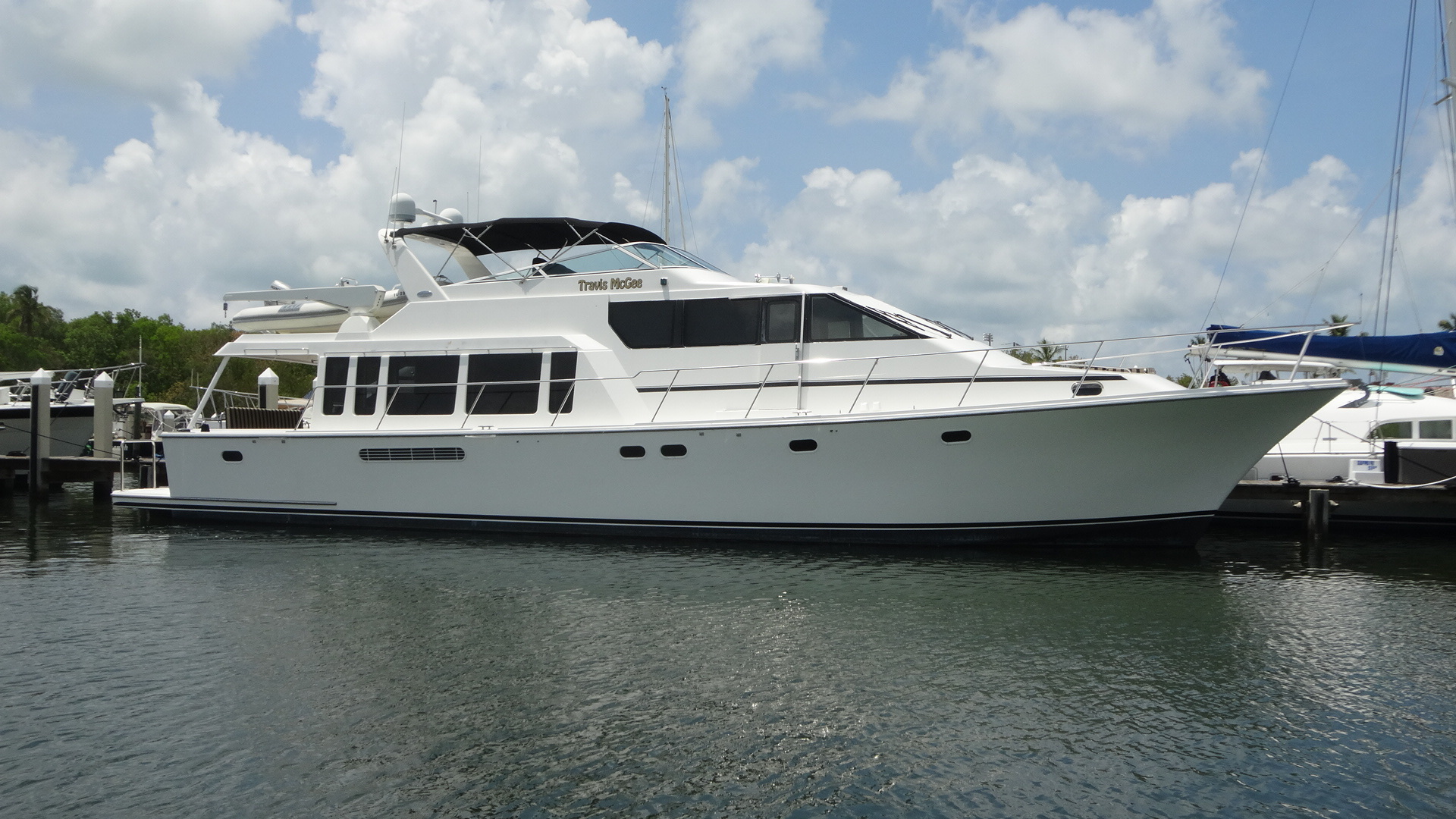 65' Pacific Mariner 2000 Pilothouse TRAVIS MCGEE