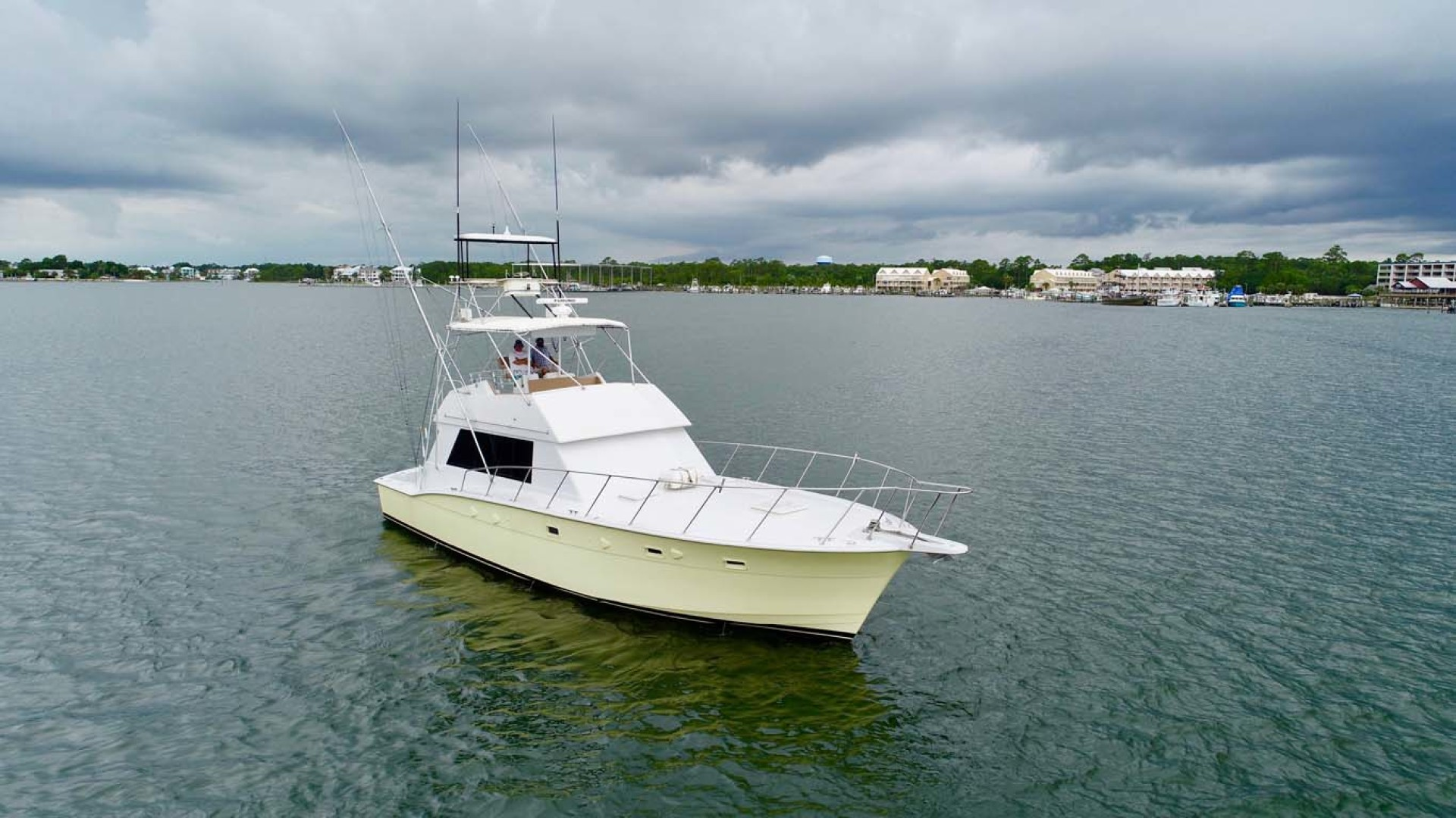 Hatteras-50 Convertible 1982-FATSO Orange Beach-Alabama-United States-1a Bow Profile-1179256 | Thumbnail