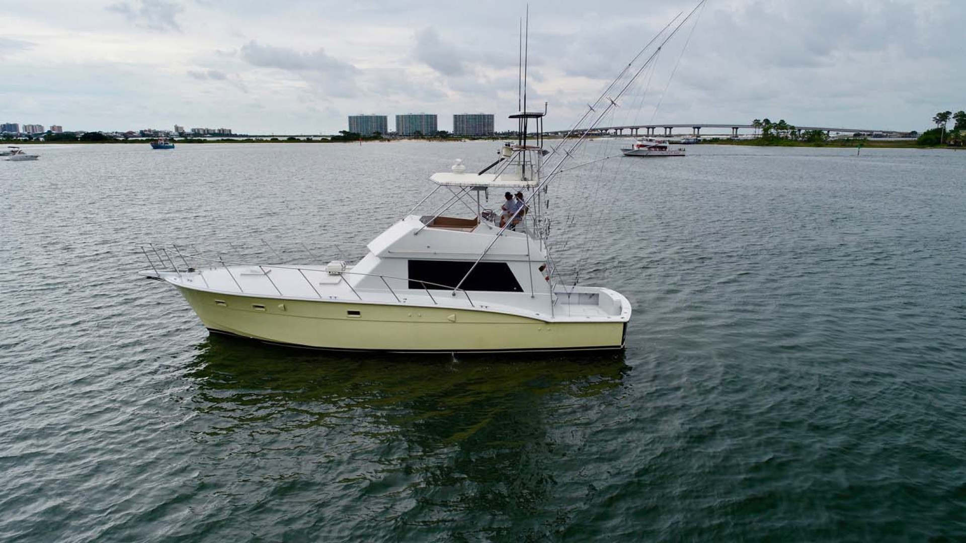 Hatteras-50 Convertible 1982-FATSO Orange Beach-Alabama-United States-5 Port   In Water-1179260 | Thumbnail