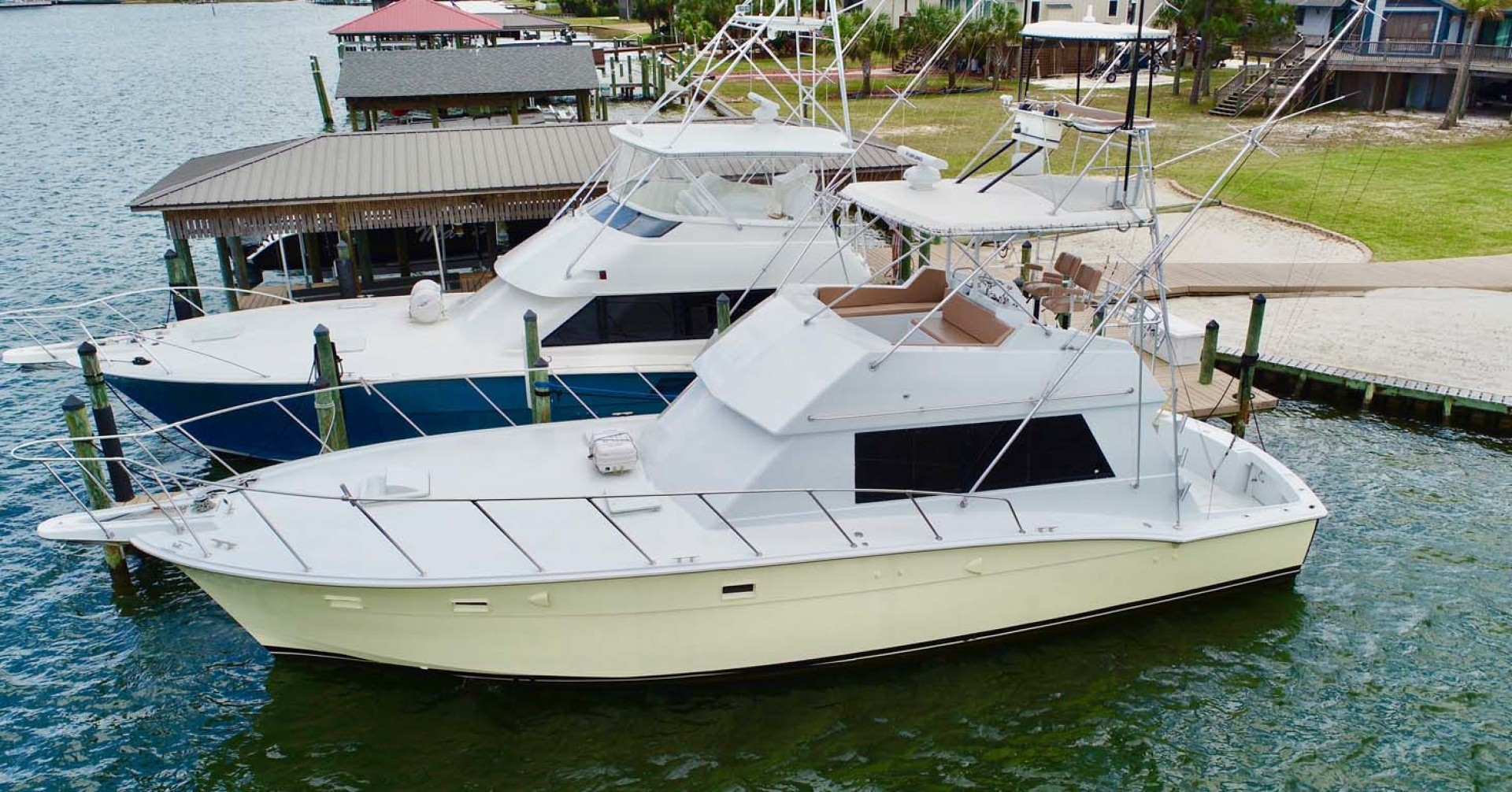 Hatteras-50 Convertible 1982-FATSO Orange Beach-Alabama-United States-31 Port   Dock-1179285 | Thumbnail