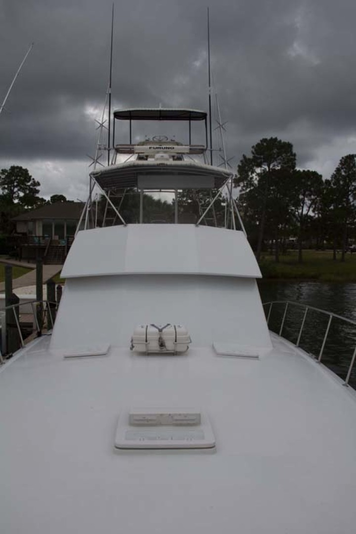 Hatteras-50 Convertible 1982-FATSO Orange Beach-Alabama-United States-8 Foredeck To Aft-1179263 | Thumbnail