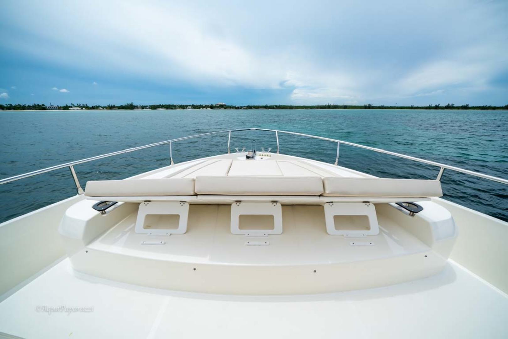 Absolute-52 Navetta 2017-Ohana North Palm Beach-Florida-United States-Foredeck Sunpad Headrests-1189345 | Thumbnail
