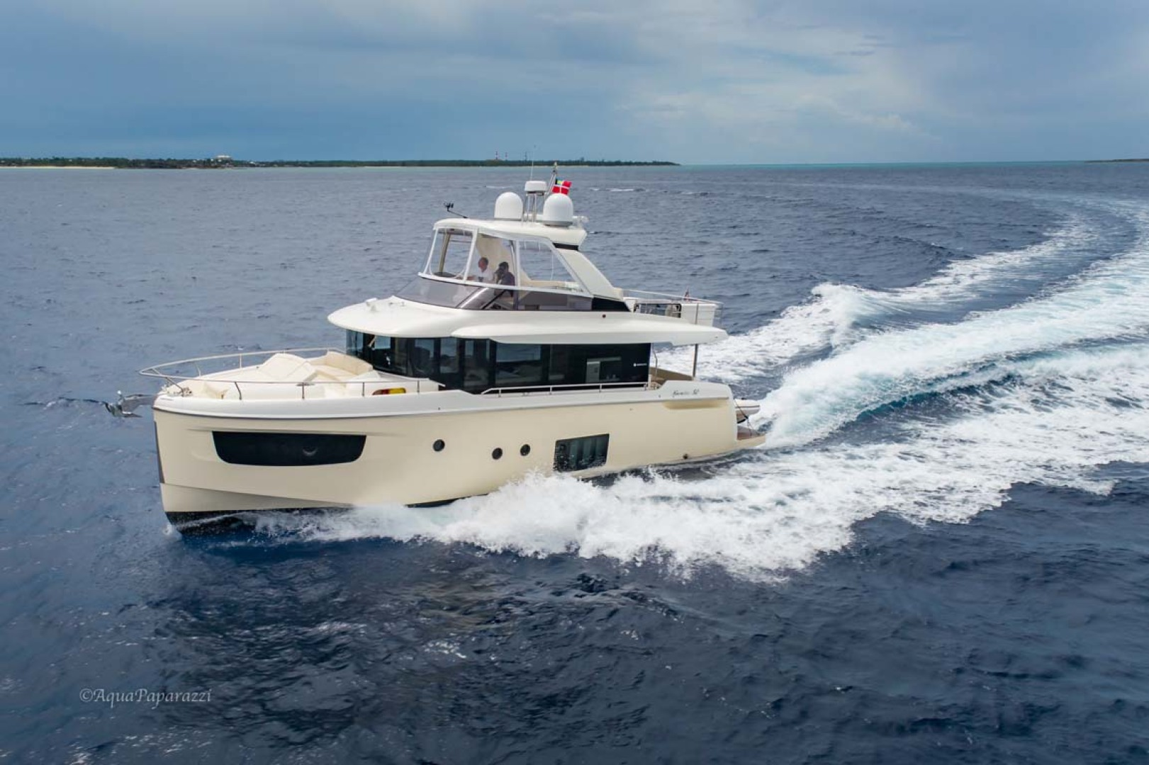 Absolute-52 Navetta 2017-Ohana North Palm Beach-Florida-United States-Port Side Running-1189381 | Thumbnail
