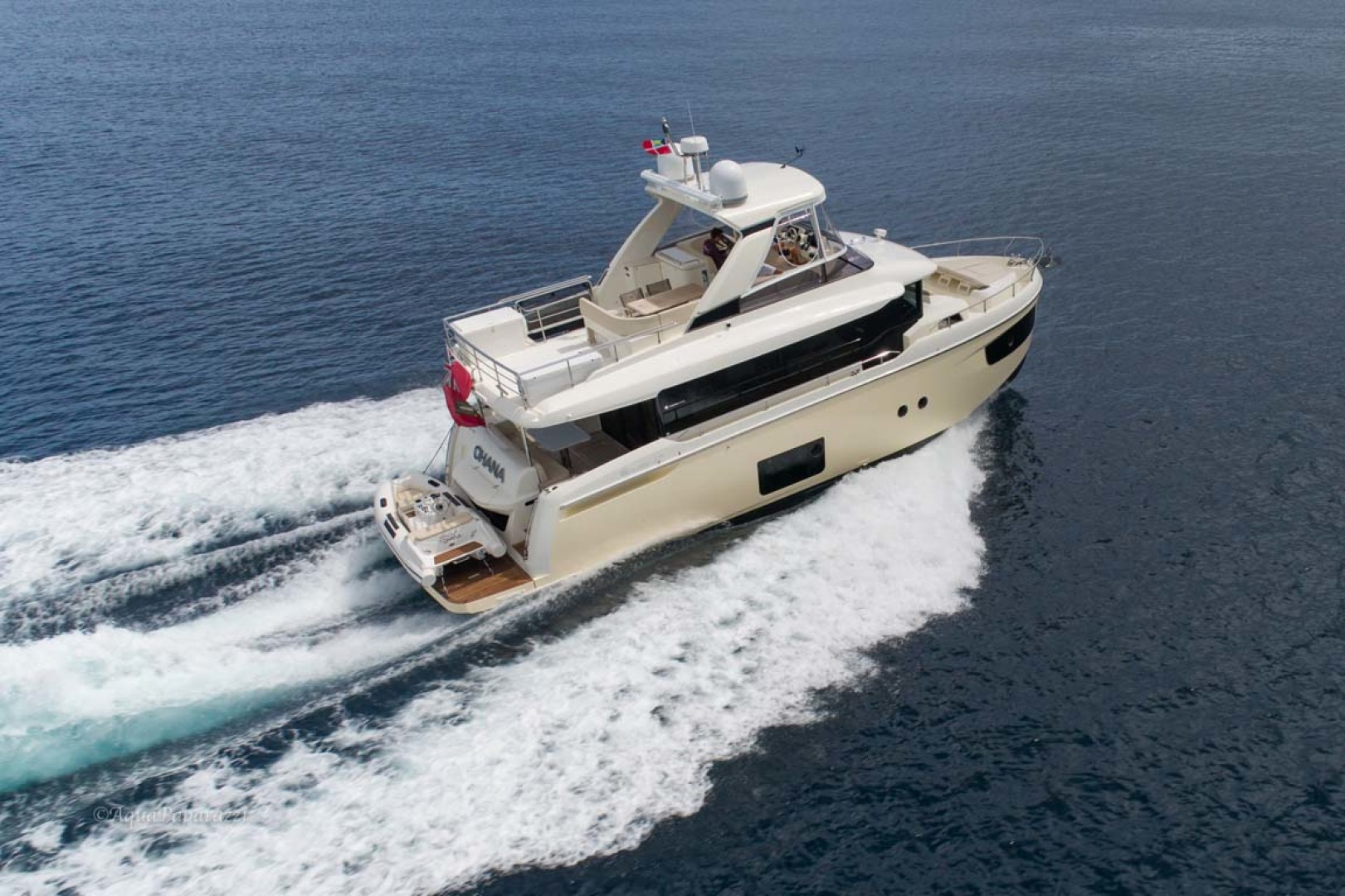 Absolute-52 Navetta 2017-Ohana North Palm Beach-Florida-United States-Starboard Aft Running-1189379 | Thumbnail