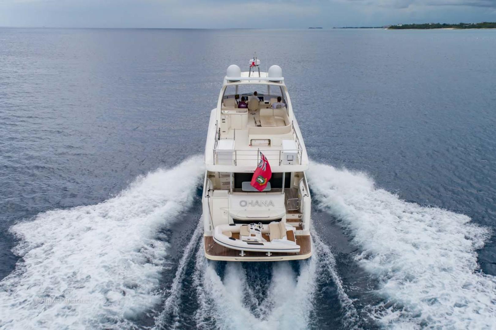 Absolute-52 Navetta 2017-Ohana North Palm Beach-Florida-United States-Stern View Running-1189378 | Thumbnail