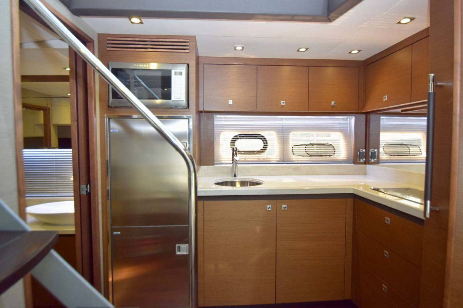 Sea Ray-510 Sundancer 2015 -Ft Lauderdale-Florida-United States-Galley View From Lower Salon Couch-1189938 | Thumbnail