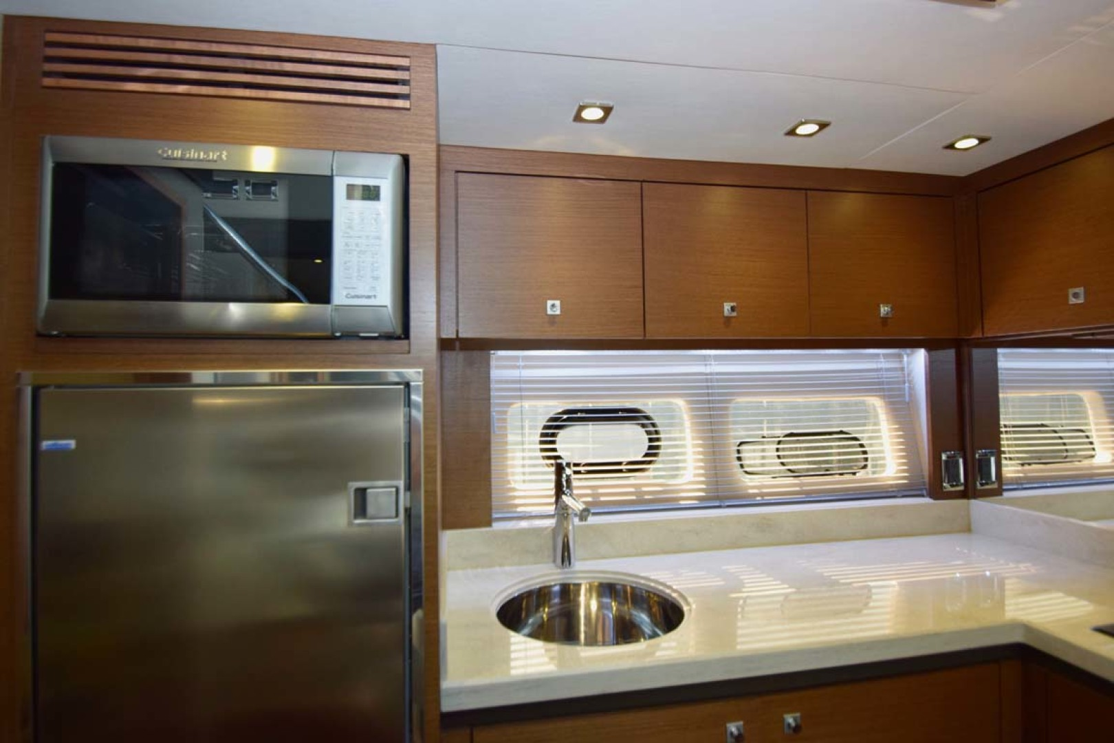 Sea Ray-510 Sundancer 2015 -Ft Lauderdale-Florida-United States-Galley Featuring New Refrigerator-1189936 | Thumbnail
