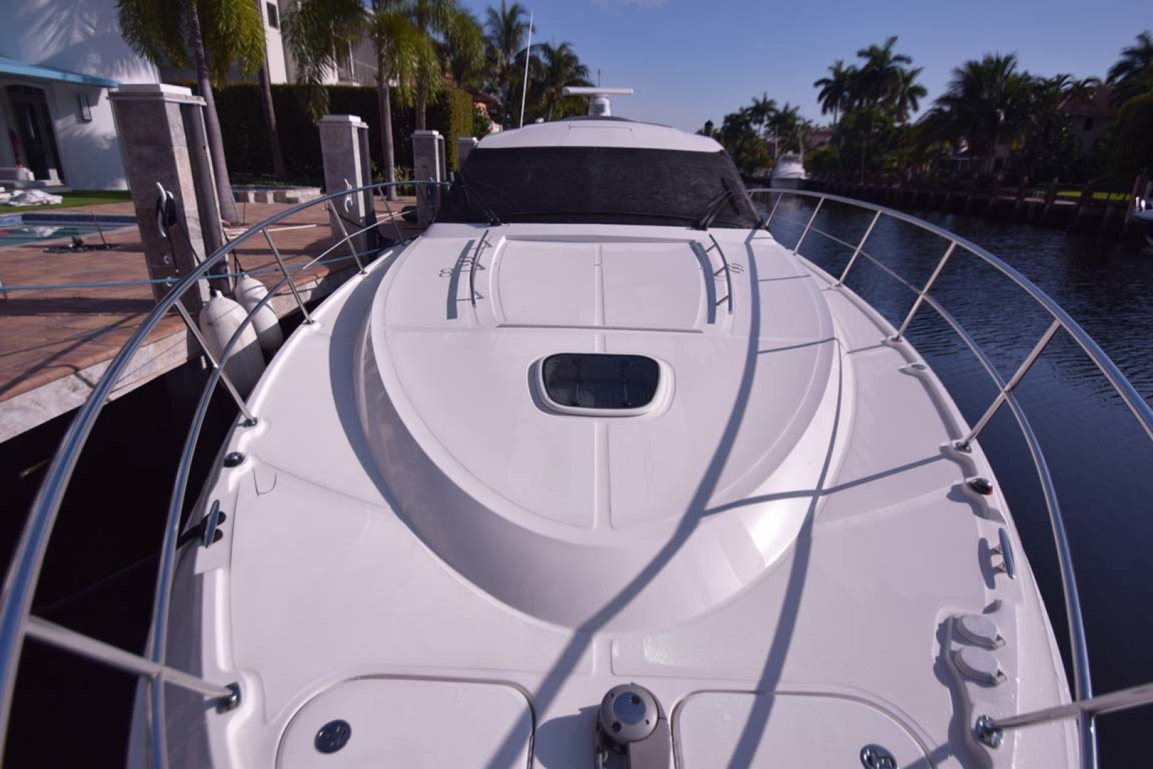 Sea Ray-510 Sundancer 2015 -Ft Lauderdale-Florida-United States-Bow View To Windshield-1189908 | Thumbnail