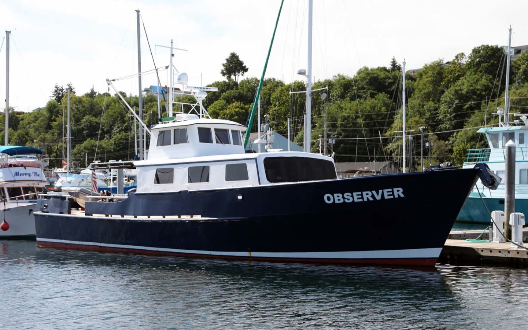 Picture Of: 60' Custom Blount Marine Research Vessel 1966 Yacht For Sale | 1 of 31